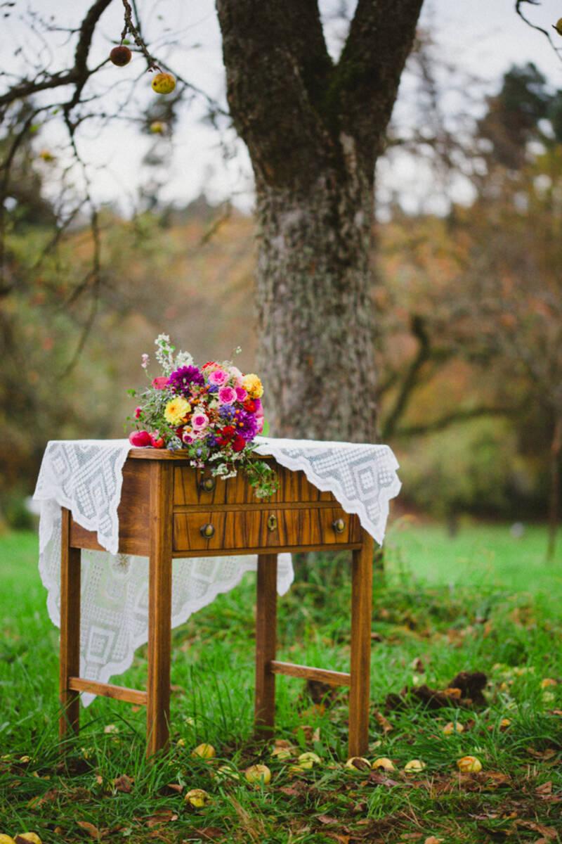Styled Shoot HERBSTAPFEL von Ludmilla Parsyak