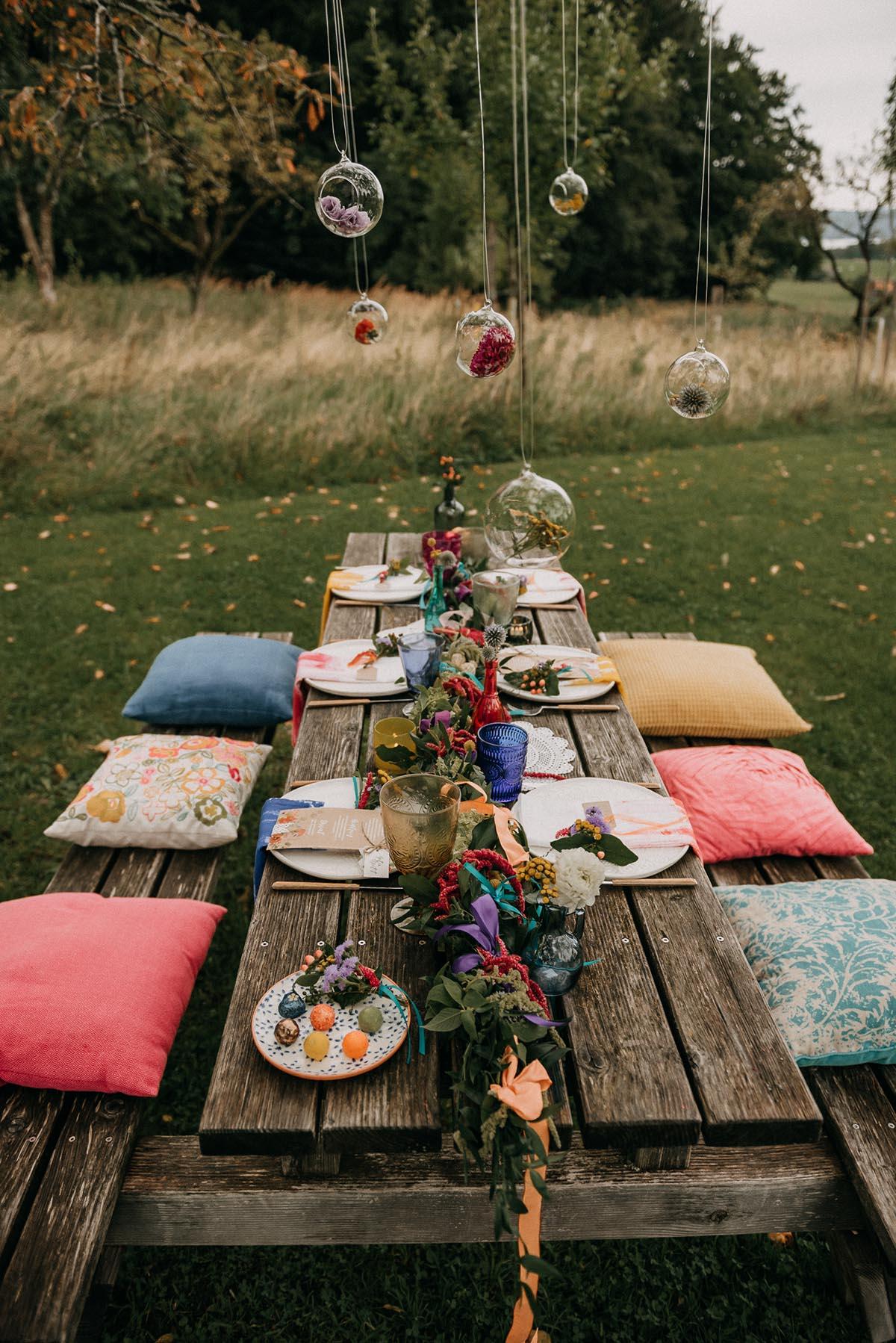 COLORFUL HIPPI WEDDING von Ramona Reckziegel