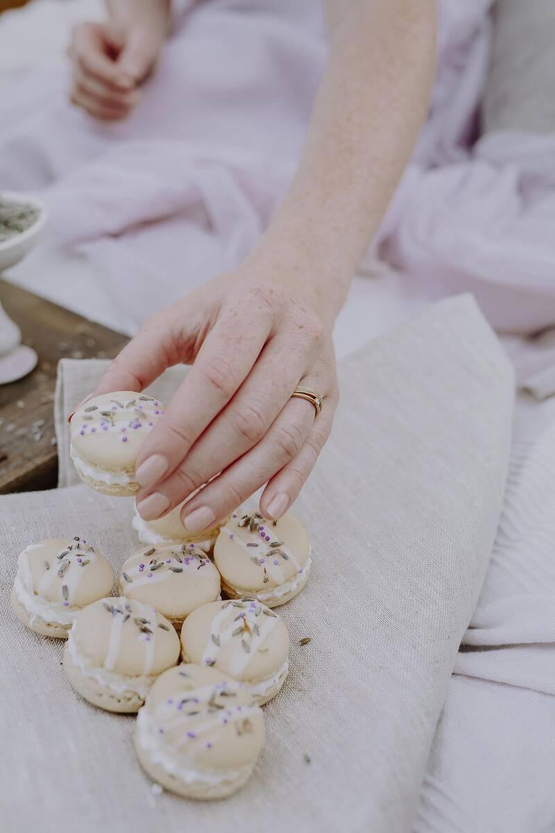 FINGERGLÜCK - Ringe aus Lavendel
