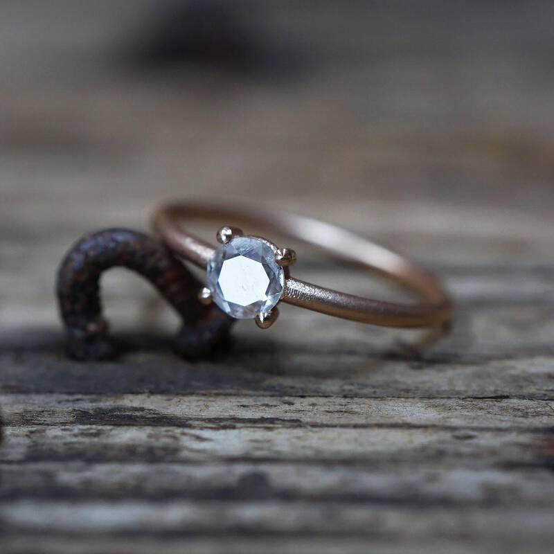 FINGERGLÜCK - Einzelstück mit besonderen Diamanten