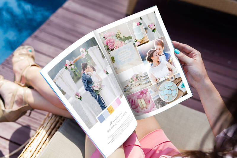 50 Moodboards – Color Concepts for Weddings